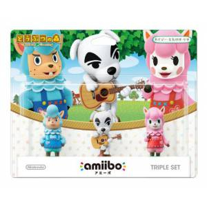 Amiibo Triple Set - Animal Crossing / Doubutsu no Mori series Ver. [Wii U]