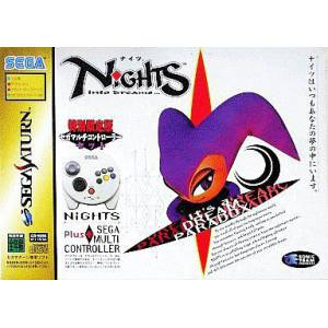 Nights Into Dreams + Multi Controller [SAT - Used Good Condition]