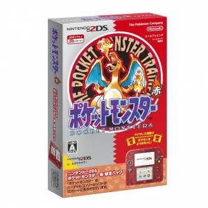 Nintendo 2DS - Pokemon Red limited pack [Brand New]
