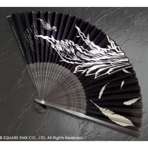 Final Fantasy VII Advent Children - Sephiroth Hand Fan [Goods]