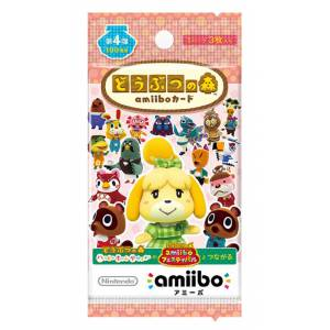 Animal Crossing / Doubutsu no Mori - Amiibo Card First Series Volume 4 [Wii U/3DS]