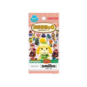 Animal Crossing / Doubutsu no Mori - Amiibo Card First Series Volume 4 (50 packs BOX)  [Wii U/3DS]