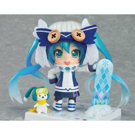 Character Vocal Series 01 - Snow Miku: Snow Owl Ver. [Nendoroid 570]