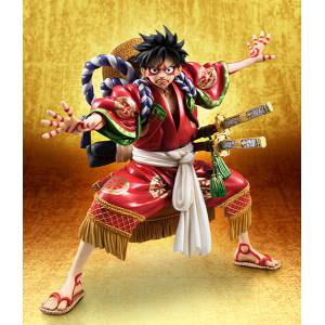 One Piece Portrait Of Pirates - Monkey D. Luffy KABUKI Limited Edition [Megahouse]