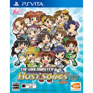 The Idolmaster Must Songs Blue Board [PSVita - Used Good Condition]