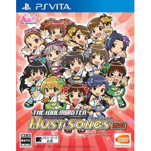 The Idolmaster Must Songs Red Board [PSVita - Used Good Condition]