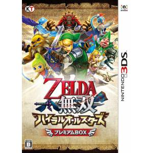 Zelda Musou Hyrule Allstars / Hyrule Warriors Legends - Premium Box [3DS - Used Good Condition]