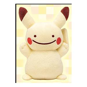 Pokemon - Pikachu Ditto / Metamon Themed Limited Edition [Plush Toys]