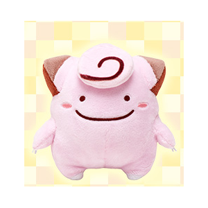 Pokemon - Clefairy Ditto / Metamon Themed Limited Edition [Plush Toys]