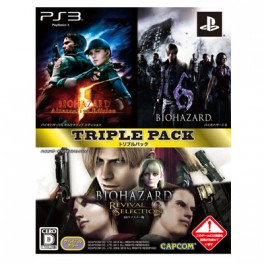 BioHazard / Resident Evil Triple Pack [PS3 - Used Good Condition]