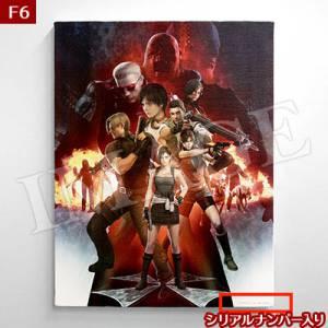 Biohazard 20th Canvas F6 (410×318mm) [e-Capcom Limited]