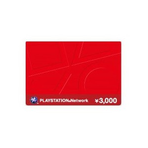 PlayStation Network Prepaid Card ¥3,000 [for Japanese Account]
