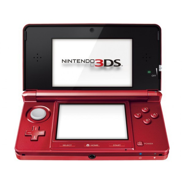 acheter nintendo 3ds flare red occasion 3ds import japon nin nin. Black Bedroom Furniture Sets. Home Design Ideas