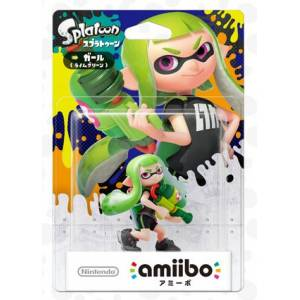 Amiibo Girl Color Variations - Splatoon series Ver. [Wii U]