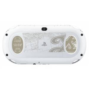 PlayStation Vita Glacier White x Ys Ⅷ Lacrimosa Of DANA - White Kureria Limited EDITION [new]