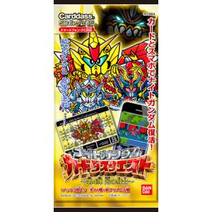"""Knight Gundam"" Series - Dankou no Kishi Booster Pack (KCQ04) (Carddass Quest Vol.4) 20 Pack BOX [Trading Cards]"