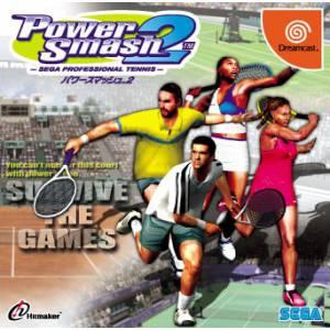 Power Smash 2 / Virtua Tennis 2 [DC - Used Good Condition]