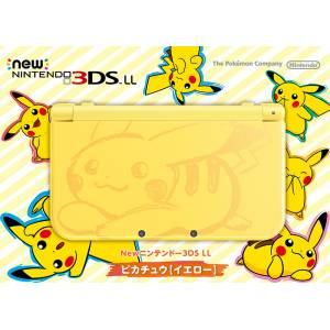 New Nintendo 3DS LL (XL) - Pokemon Pikachu Yellow Limited Edition [Brand New]