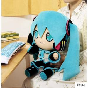 Hatsune Miku PC Cushion - Bandai Premium Limited Edition [Plush Toys]