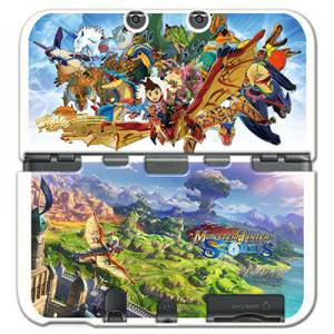 Cover Plates - Monster Hunter Stories  [New 3DSLL]