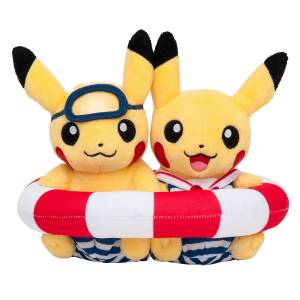 Monthly Paired Pikachu (July 2016) Pokemon Center Limited Edition [Plush Toys]