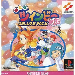 Detana Twinbee Yahoo Deluxe Pack Ps1 Used Nobox Nin Nin Game Com