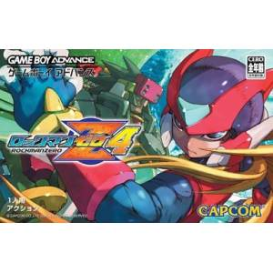 Rockman Zero 4 / MegaMan Zero 4 [GBA - Used Good Condition]