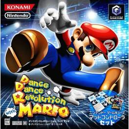 Dance Dance Revolution with Mario / Mario Mix [NGC - Used Good Condition]