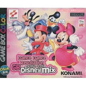 Dance Dance Revolution GB Dinsey Mix [GBC - Used]