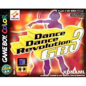 Dance Dance Revolution GB3 [GBC - Occasion]