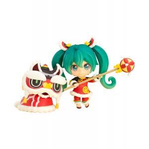 Character Vocal Series 01 - Hatsune Miku: Lion Dance Ver. [Nendoroid 654]