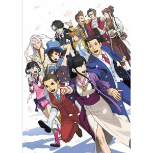 Gyakuten Saiban / Ace Attorney 6 Official Visual Book [Artbook]