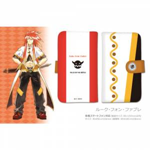 Tales of The Abyss - Notebook Type Smartphone Case Luke Fon Fabre [Goods]
