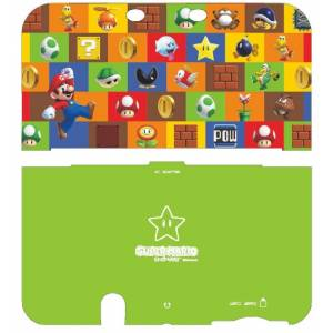Cover Plates -  Super Mario (Green) [New 3DSLL]