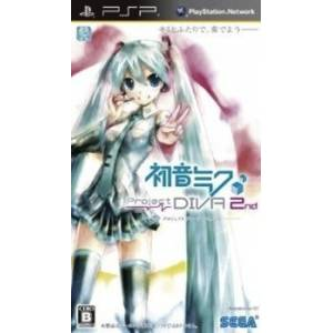Hatsune Miku - Project Diva 2nd [PSP - Used Good Condition]