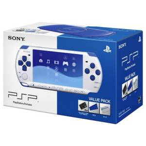 Value Pack PSP White/Blue (PSPJ-30018) [Used]