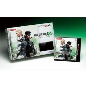 Nintendo 3DS - Metal Gear Solid Snake Eater 3D Premium Package - Konami Style Limited Edition [brand new]