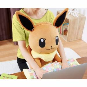 Pokemon - Eevee / Évoli PC Cushion - Bandai Premium Limited Edition [Plush Toys]