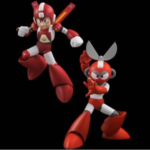 Super Mega Man - Super Rockman & CUT MAN Set [4 Inch Nel]