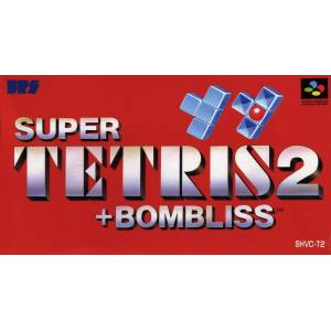 Super Tetris 2 + Bombliss [SFC - Used Good Condition]