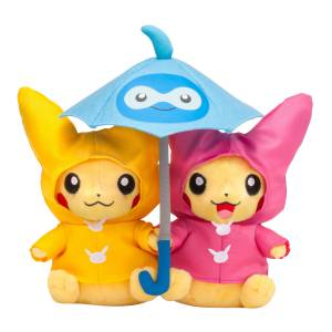 Monthly Paired Pikachu (June 2016) Pokemon Center Limited Edition [Plush Toys]