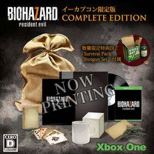 Resident Evil / Biohazard 7 EDITION COMPLETE Cero: D Version - e-Capcom Limited Edition [Xbox One]