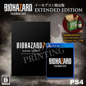 Resident Evil / Biohazard 7 EXTENDED EDITION Cero: D Version - e-Capcom Limited [PS4]