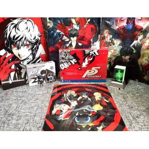 Persona 5 - 20th Anniversary Famitsu DX Pack 3D Crystal set [PS4]