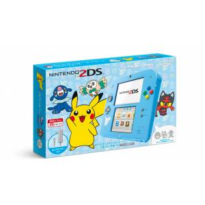 Nintendo 2DS - Pokemon Sun & Moon light blue limited edition [Brand New]