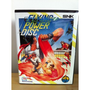 Flying Power Disc / Windjammers [NG AES - Used Good Condition]