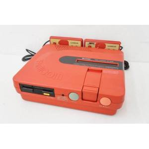 Twin Famicom Red AN-500R [Used - no box]