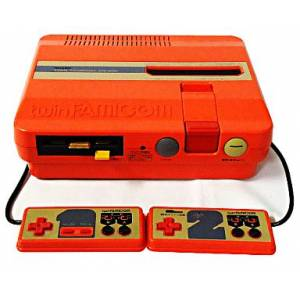 Twin Famicom rouge AN-505-RD [Occasion - sans boîte]