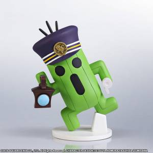 WORLD OF FINAL FANTASY - Cactuar Conductor [Static Arts mini]