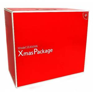 Dreamcast Model Seaman Xmas Package - in box [Used Good Condition]